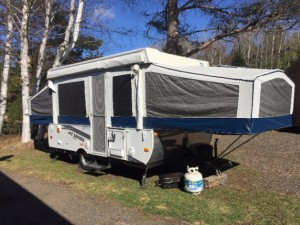 2011 12' JAYCO POP UP TENT TRAILER